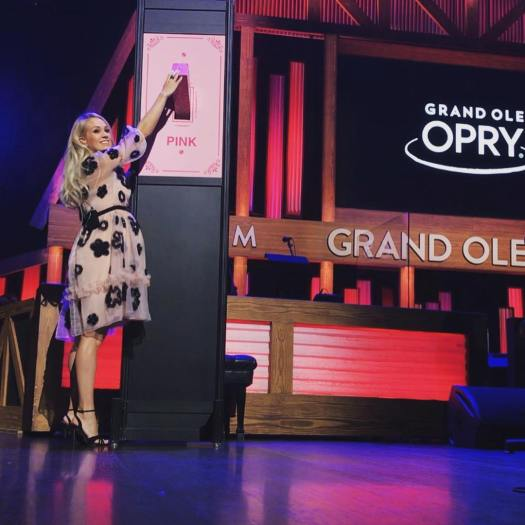 carrie opry pink