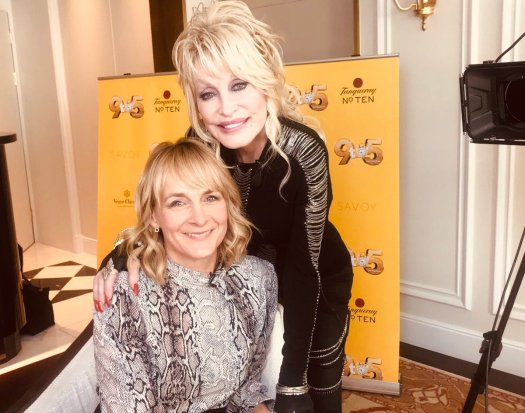 louise minchin and dolly parton