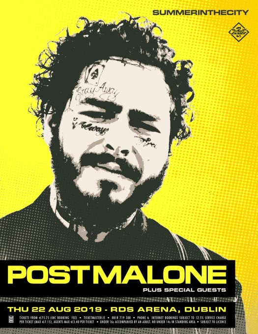 post malone dublin