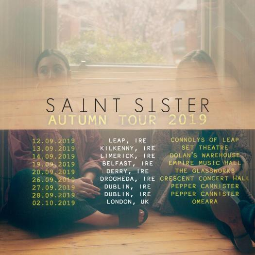 saint sister autumn tour
