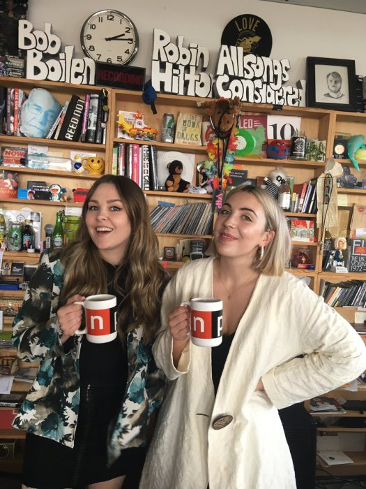 saint sister npr tiny desk