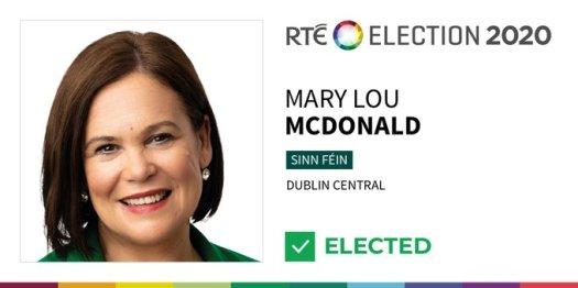 RTE news mary lou mcdonald