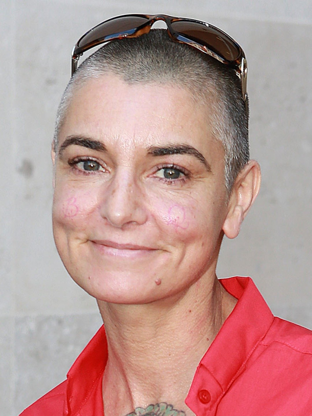 Sinead O'Connor at BBC Radio Studios, London, Britain - 29 Jul 2014